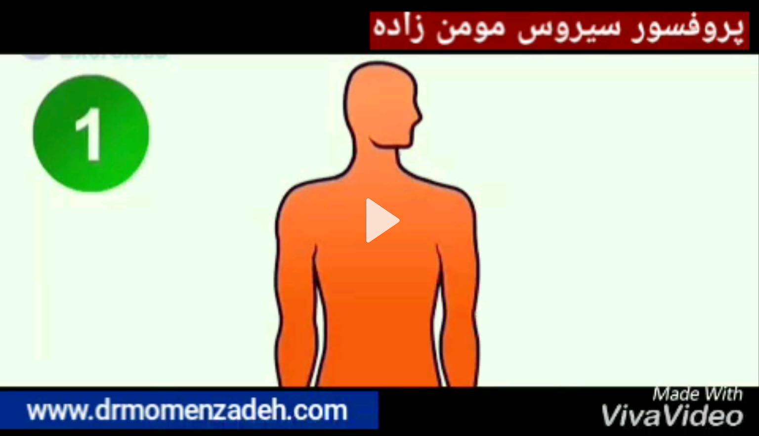 www.drmomenzadeh.com: اگر از آسیب دیسک گردن در خطری  با کمتر از یک دقیقه از این کار پیشگیری کن